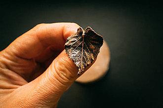 Prstene - Prsteň lipa (2,5 x 3 cm - 57) - 12343761_