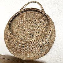 Košíky - závesný košík (Šedá) - 12341934_