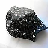 Rúška - Ochranné rúško na tvár s drôtikom - dvojvrstvové - skladom  - 12341610_