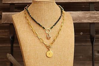 Náhrdelníky - Súprava náhrdelníkov - choker a retiazka - 12342094_