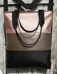 """Batohy - """"backpack 3in1- rose&black"""" - Batoh & taška cez rameno - 12343243_"""