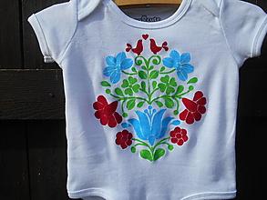 Detské oblečenie - folk body-baby- - 12348830_