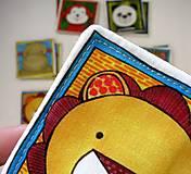 Hračky - Textilné pexeso  (Zvieratká z exotiky) - 12346349_