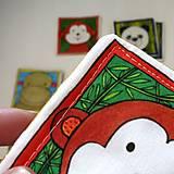 Hračky - Textilné pexeso  (Zvieratká z exotiky) - 12346350_