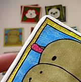 Hračky - Textilné pexeso  (Zvieratká z exotiky) - 12346351_
