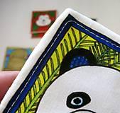 Hračky - Textilné pexeso  (Zvieratká z exotiky) - 12346353_
