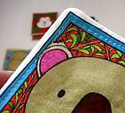 Hračky - Textilné pexeso  (Zvieratká z exotiky) - 12346354_