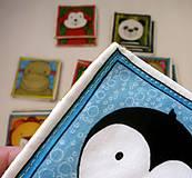 Hračky - Textilné pexeso  (Zvieratká z exotiky) - 12346355_