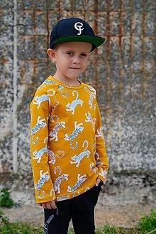 Detské oblečenie - Detská mikina - LEO SUNNIE (organic) - 12348725_
