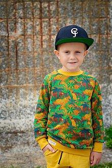 Detské oblečenie - Detská mikina - LEO WILD (organic) - 12348735_