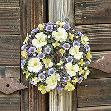 Dekorácie - Venček na dvere - 12348500_