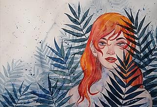 Obrazy - Jesenná melanchólia - Originál - 12348474_