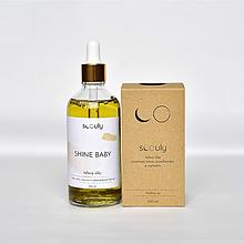 Drogéria - Prírodný telový olej Shine baby - 12347797_