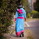 Šaty - Origo šatoš ňuňu maxi kvety  - 12347608_