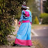 Šaty - Origo šatoš ňuňu maxi kvety  - 12347614_