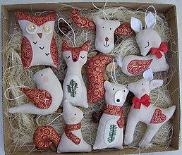 Dekorácie - vianočná kolekcia - lesná zmes 2 - 12351584_