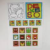 Hračky - Pexeso papierové (Zvieratká z lesnej tône) - 12349559_