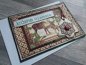 Papiernictvo - ...pohľadnica vianočná s vločkou... - 12349948_