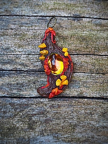 Náhrdelníky - Jesenný druidský amulet 1. - 12352615_