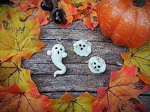 Sady šperkov - Dušíkovia svietiaci v tme - Halloweensky zábavný šperk - 12352663_