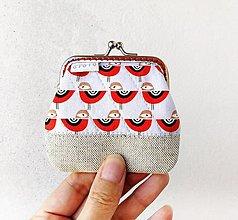 Peňaženky - Peňaženka mini Vtáčiky - 12349896_