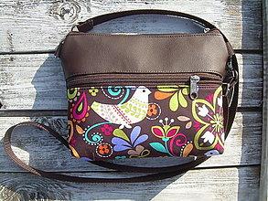 """Taštičky - """"mini city bag 3in1- birdy"""" -ľadvinka+taška - 12350590_"""