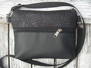 "Taštičky - ""mini city bag 3in1- little black"" -ľadvinka+taška - 12351399_"
