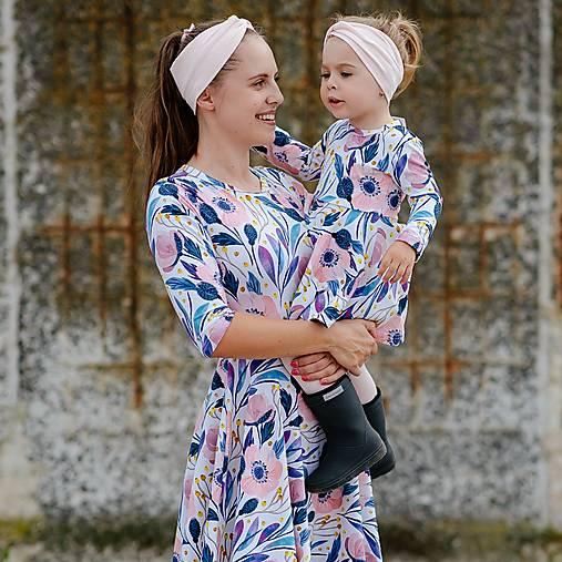 Šaty - Dámske šaty - FLOWER POWER - 12353919_