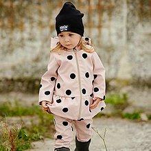 Detské oblečenie - Detská softshell bunda - BUBBLES NUDE - 12353856_