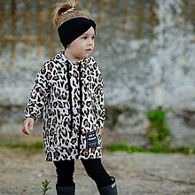 Detské oblečenie - Detská oversize mikina - LEO zateplená - 12353866_