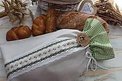 Úžitkový textil - Vrecko na chlieb - 12354426_