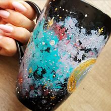 Nádoby - Galaxy šálka - 12353808_