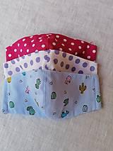 Rúška - Ochranné rúška pre deti (SADA 1) - 12352729_
