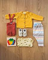 Detské oblečenie - Pásikavé tepláky Jeseň - 12353289_