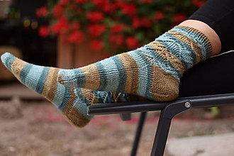 Obuv - s pravej ponožkovej merino vlny (v.37-38) - 12355062_