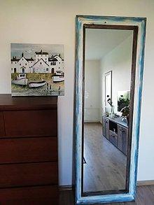 Zrkadlá - Zrkadlo veľké modré - 12355450_