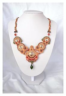 Náhrdelníky - Maureen - šujtášový náhrdelník - 12353606_
