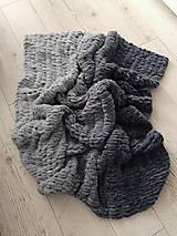 Úžitkový textil - Jemnučka deka - 12355430_
