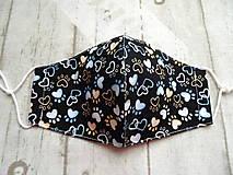 Rúška - Bavlnené rúška... dámske - 12356966_