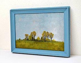 Obrazy - Maľovaný obraz-Rovina - 12356989_