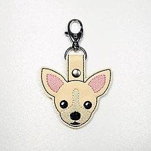 Kľúčenky - Prívesok psík čivava - 12358426_