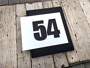 Tabuľky - Popisné číslo Avantgard Long - 12356794_