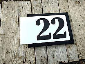Tabuľky - Popisné číslo Avantgard I. - 12356929_