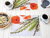Úžitkový textil - Autorské Foto Prostírání - Makové potěšení - 12358315_