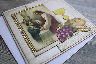 Papiernictvo - ...pohľadnica k 1. sv. prijímaniu... - 12356453_