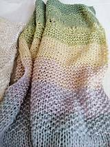 Textil - Detská dúhová deka I - 12355880_