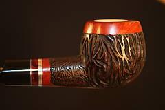 Iné - Štýlová fajka z briárového dreva #2022 - 12355673_
