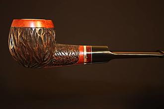 Iné - Štýlová fajka z briárového dreva #2022 - 12355672_