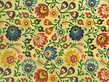 Úžitkový textil - Voskáčik - voskovaný obrúsok MIDI - 12359915_