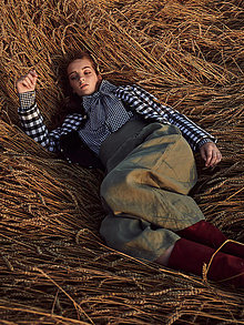 Nohavice - Lněné kalhoty Alicia - 12359161_